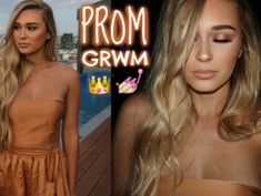 Prom 2016 | Hair, Makeup & Outfit